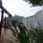 Tackling the world's 'most dangerous' hike at Mount Huashan, China